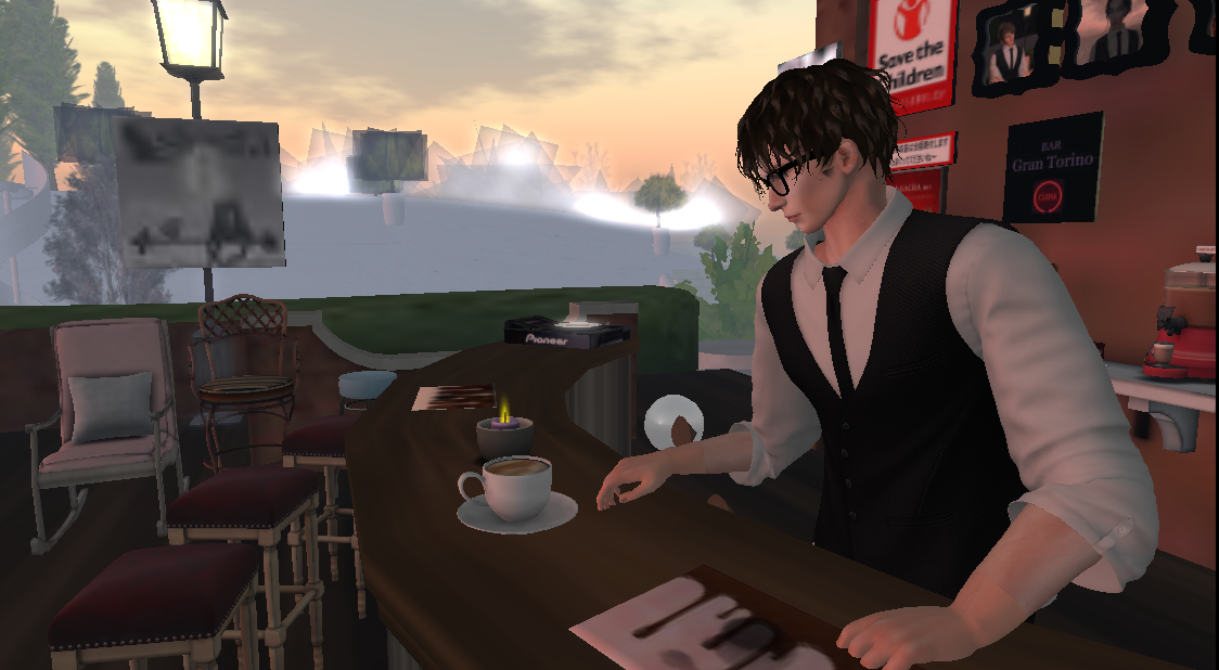 cafeショコラAM2:00営業中