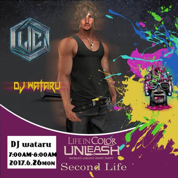 6/26 DJ wataru Live L・・・