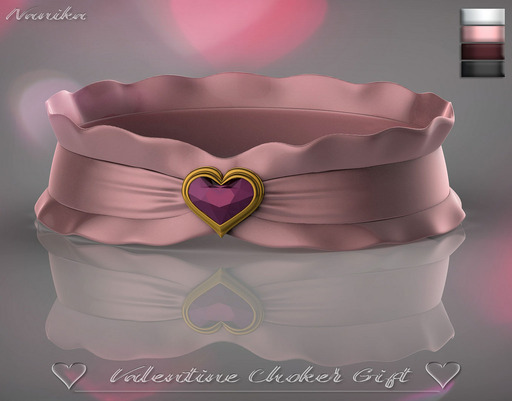 Valentine choker giftclub crimson group valentine choker gift negle Gallery