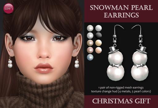 Izzie's - Snowman Pea・・・