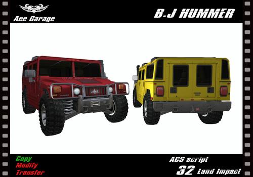 Ace Garage B.J HUMMER