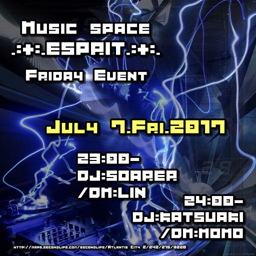 7/07 OPEN.:+:.ESPRIT.・・・