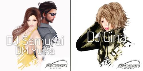 DJ Gina & DJ Samurai ・・・