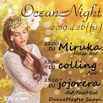 OCEAN NIGHT 4.26