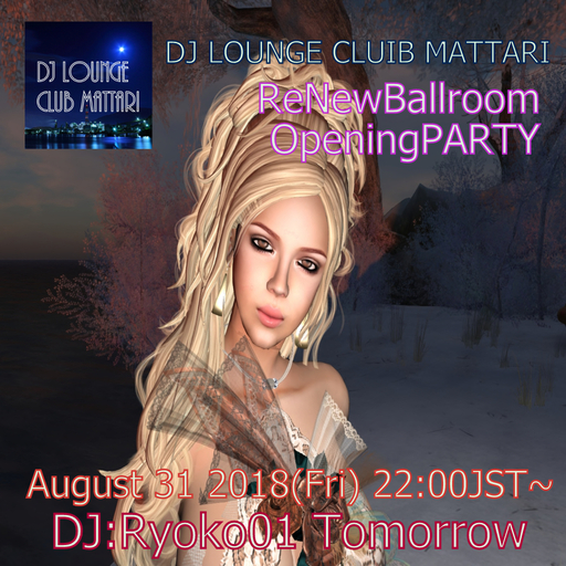 CLUB MATTARI Re Open ・・・