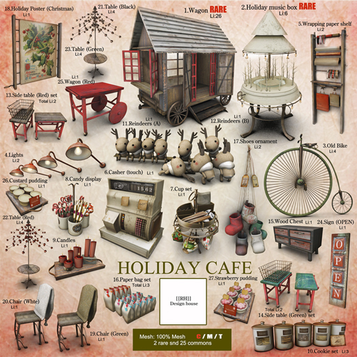 [[RH]] HOLIDAY CAFE G・・・