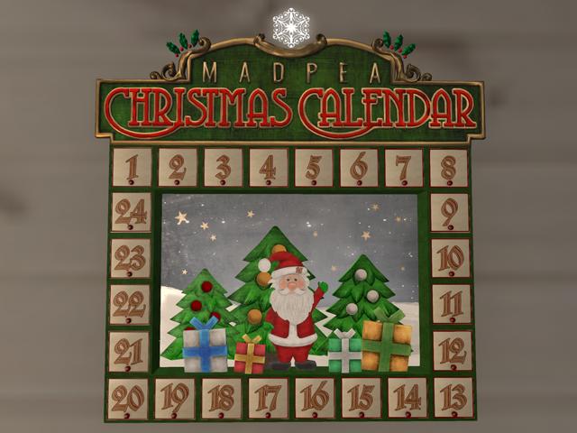 MadPea Christmas Cale・・・