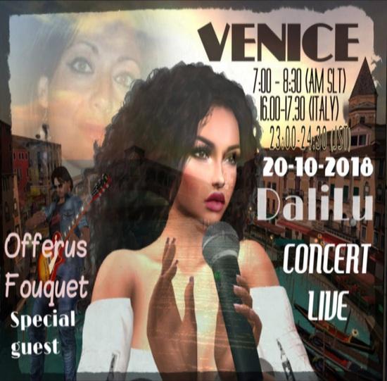 Dalilu Concert in ven・・・