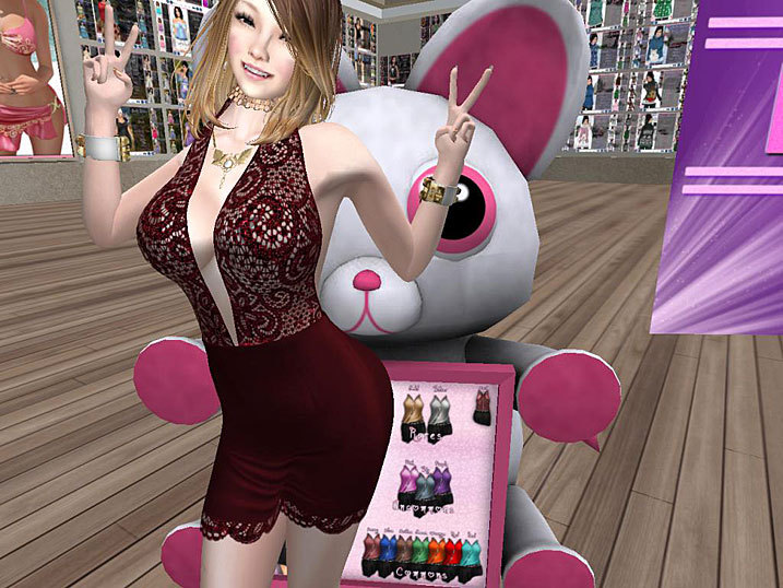 Susan Dress RR SLFO H・・・
